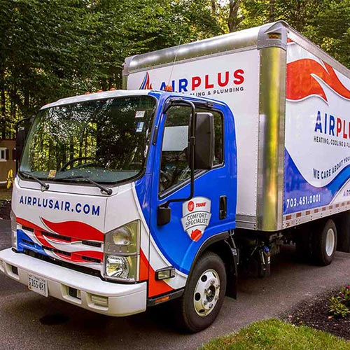 AirPlus Home Services truck