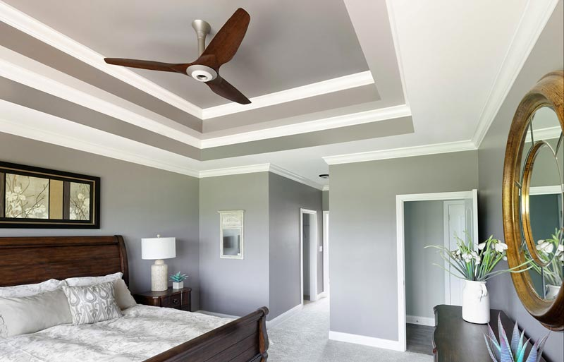 Haiku Ceiling Fan - Smart Ceiling Fan in use