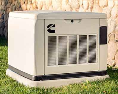 Cummins Standby Generator Installed By AirPlus