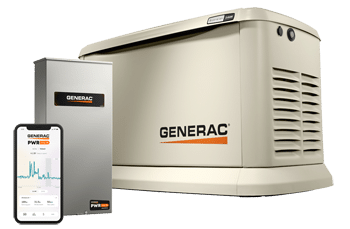 generac home generator transfer switch smartphone app power management